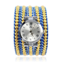 Handmade Small Beads Wrap Watch