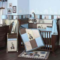 Jake Bedding by Lambs & Ivy - Baby Crib Bedding - 28005v