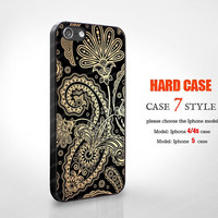 beautiful flower new design unique iphone 5 case Iphone 4 covers 4 case Iphone 5 case hard Case iphone 4 iPhone 4s Case hard case WB010