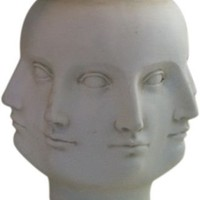 One Kings Lane - Design-Blogger Tag Sale - Face Vase