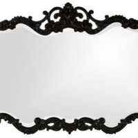 One Kings Lane - Amanda Erin - Talida Mirror, Black Lacquer