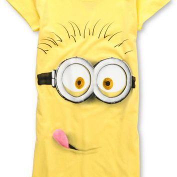 Bitter Sweet Girls Silly Minion Yellow Tee