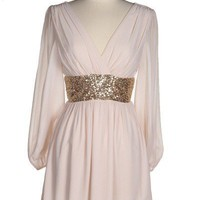 Sheer chiffon dress | Appealing Boutique