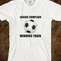 Soccer Winners Train - Spot Of Tees