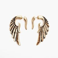 Gilded Wing Earrings
