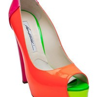 Brian Atwood Alima Tri-Color Platform - Hu?S Shoes - farfetch.com