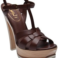 Yves Saint Laurent Tribute Sandal - Hu?S Shoes - farfetch.com