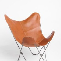 UrbanOutfitters.com > Leather Butterfly Chair