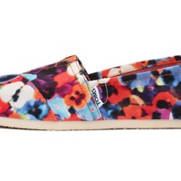 Toms Womens Classics Multicolored 001026B13-Oahu