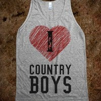 I HEART COUNTRY BOYS :)