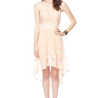 Summer Daze Cami Dress in Peach :: tobi