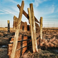 Old Fence by FairchildPhotography on Etsy