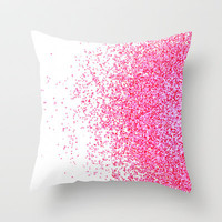 sweet delight Throw Pillow by Marianna Tankelevich
