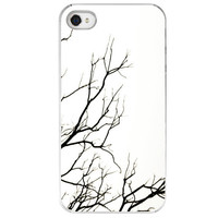 Winter iPhone 4 /4S case gift black and white by SkyeZPhotography
