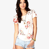 Rosebud Tee | FOREVER 21 - 2042858000