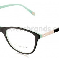 Tiffany & Co TF2045B 8055 Black Light Blue Tiffany Glasses | FREE Prescription Lenses | UK Opticians