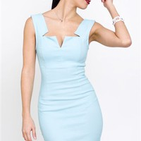 Little Blue Dress - Top Notch Dress - $55