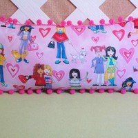 Girl Power Pillow in Pink