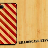 Stripe Wood Case - iPhone 4 Case iPhone 4s Case iPhone 5 Case idea case Galaxy Case