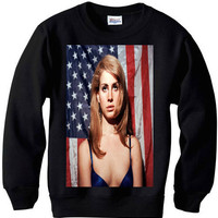 Lana Del Rey video games born to die sweatshirt sweater indie hipster pop punk rock hip hop rock n roll hard rock r n b