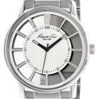 Kenneth Cole New York Round Transparent Dial Watch | Nordstrom