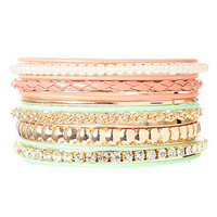 rue21 :   12 ROW BRAIDED MIX BANGLE
