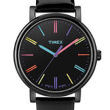 Timex 'Easy Reader' Multi Color Marker Watch, 38mm