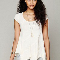 Free People  Clothing Boutique > Short Sleeved Seamed Pullover