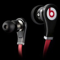 Black  Monster Beats By Dr Dre Tour with Control Talk  In Ear Buds Headphones