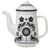 Enamel Folklore Tea/Coffee Pot (?14.95) - Hunkydory Home