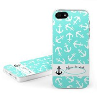 Refuse to Sink Design Clip on Hard Case Cover for Apple iPhone 5 / 5S Cell Phone
