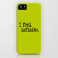 I Feel Infinite.  iPhone Case by JessicaSzymanski | Society6