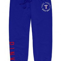 Texas Rangers Signature Crop Pant - PINK - Victoria's Secret