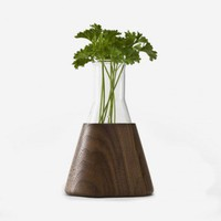 urbanature 1/4 Liter Vase (Nussbaum) | selekkt.com