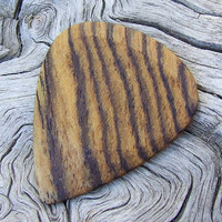 Mexican Bocote Premium Wood Guitar Pick - Handmade
