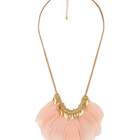 Feathered Cord Necklace | FOREVER21 - 1000040163