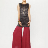 Free People Tiered Sea Drift Wideleg at Free People Clothing Boutique