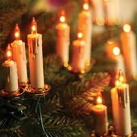 Victorian trading Co. - www.victoriantradingco.com - Old World Candle Garland