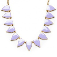 Liya Necklace in Mint - ShopSosie.com