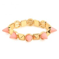 Pink Spike Stud Bangle - New Arrivals - Just In