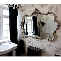 Miss Lala&#x27;s Silver Looking Glass|Mirrors|Mirrors  Screens|French Bedroom Company