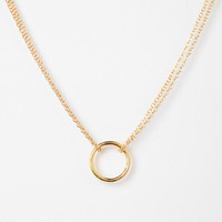 Urban Outfitters - Adina Reyter Tiny Circle Necklace