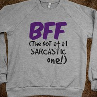 BFF - The NOT at all SARCASTIC one! - Connected Universe