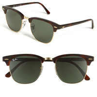 Ray-Ban &#x27;Classic Clubmaster&#x27; 51mm Sunglasses | Nordstrom