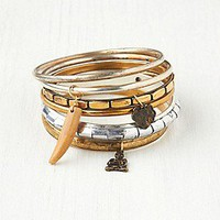 Free People Clothing Boutique > Charmed Hard Bangle Set