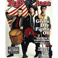 Green Day, Rolling Stone no. 1079, May 28 2009 Photographic Print by Sam Jones at AllPosters.com