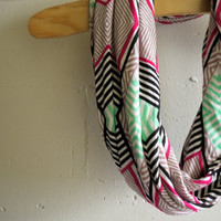 Infinity Scarf Circle Scarf - Which Way