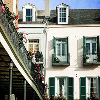 French Quarter Photograph for Sale New Orleans Art by Briole