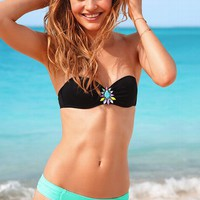 Jewel Push-Up Bandeau Top