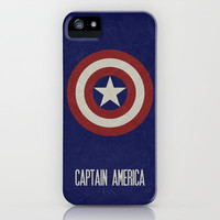 Captain America - Minimalist Poster 02 iPhone Case by Misery | Society6